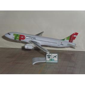 Avião Airbus A320-200 Tap Portugal 1:187 Miniatura Maquete.