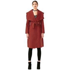 Abrigo Rojo Mujer Elegante - Vestuario y Calzado en Mercado Libre Chile 9ed9a8c6cb52