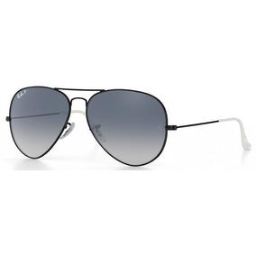 Oculos Ray Ban Aviador Rb 3026 Cinza Degrade Espelhado preto ... 626064b5dc