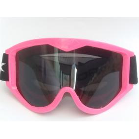 Oculos Motocross Rosa Espelhado - Acessórios de Motos no Mercado ... 508275c18a