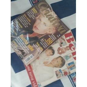 Revistas Com Xuxa Meneghel E Sasha (bebê) Na Capa.
