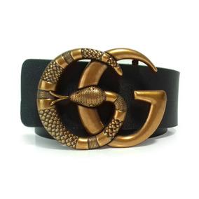 Cinto Da Gucci Importado Marmont Cobra Modelo Das Blogueiras