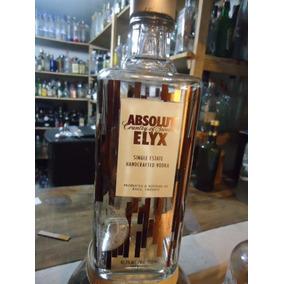 Garrafa Vodka Absolut Elyx Vazia 750ml [orgulhodoml2] No2