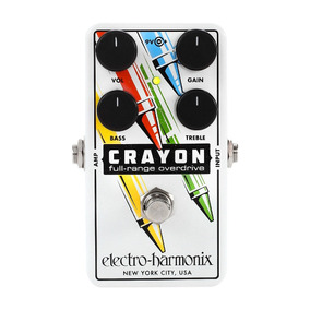 Pedal De Guitarra Overdrive Electro Harmonix Crayon - Gtia.