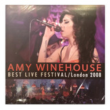 Vinilo Amy Whinehouse Best Live In London 2008 Lp Nuevo