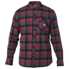 Navy - M Mediana - Camisa Fox Rowan