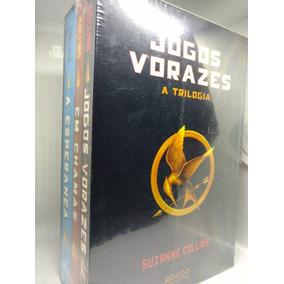 Box De Livros - Jogos Vorazes (3 Volumes)- Novo E Lacrado