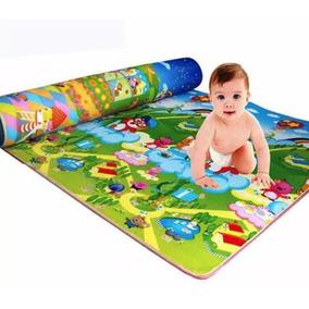 Tapete De Atividades 1,80 X 1,00 Bebês Atividades Conforto