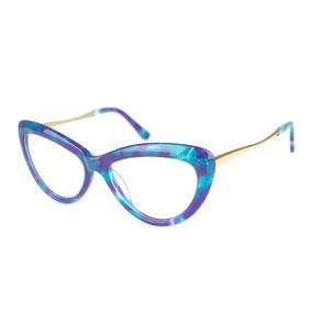 886ff8380c887 Oculos Feminino De Grau Gatinho Infantil Roxo - Óculos no Mercado ...