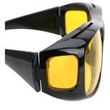 Óculos Polarizados Lente Amarela Visão Noturna Proteção Uv
