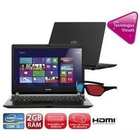 Notebook Cce Win Intel Celeron 2gb Hd500 Win 8 Novo Oferta