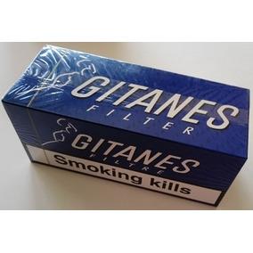 Cigarrillos Gitanes Negros Con Filtro Imp. De Europa!!