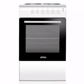 Cocina Electrica Atma Cce3110b 4 Hornallas 50cm Horno Blanca