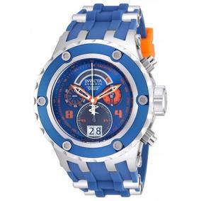 Invicta Subaqua Chronograph Blue Dial Blue Men