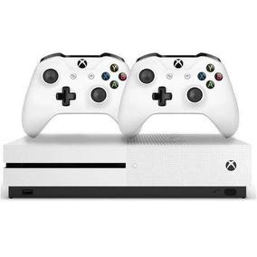 Xbox One S 1tb Slim Microsoft Original Bivolt C/ 2 Controles