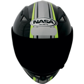 Capacete Moto Nasa Sh-881 Force One - Tam: 61