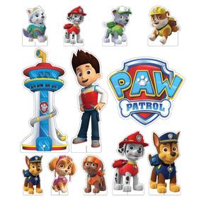 Kit Display Decorativo Patrulha Canina Festa Infantil 12pçs