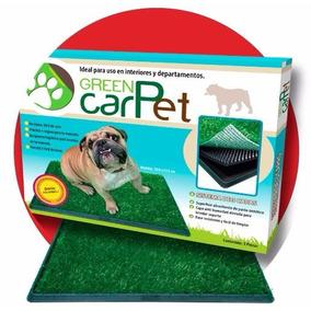 Tapete Sanitario Grass Entrenador Perro Green Carpet Mediano