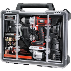 Taladro Black And Decker 6 En 1 Matrix 20v Tool Combo