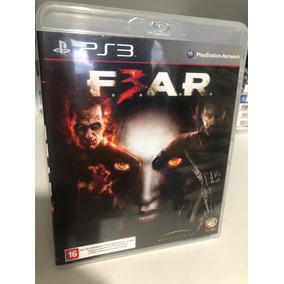 Jogos De Ps3 Midia Fisica(cd) Fear 3