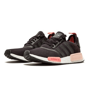 hot sale online 1849d 2d96d Zapatillas adidas Nmd R1 W Negro Rosa Mujer    Modelo 2018