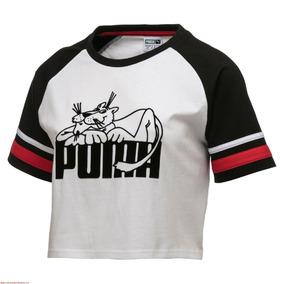 Playera Puma Super 575225-02 Blanco