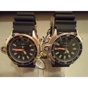 834f317e27d Relogio Atlantis Original 3220 Aqualand Serie Ouro  citzen