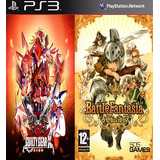 Guilty Gear Xrd -revelator & Battle Fantasia Digital Ps3