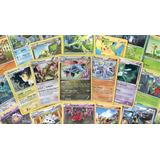 Lote De 10 Cartas Pokémon Tcg Oficiales (common)