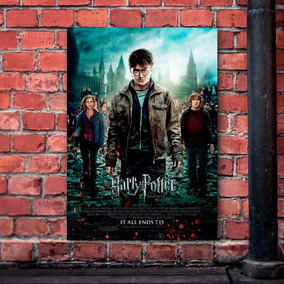 Kit 03 Pôsteres A3 Harry Potter - Frete Grátis (ler Anúncio)