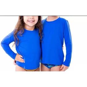 Camisa Termica Infantil Manga Longa - Camisa Manga Longa no Mercado ... a347a7c412b26