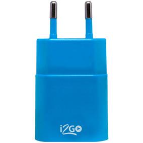 Tomada Usb I2go I2gwa, Azul