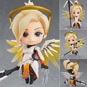 Action Figure Nendoroid Boneca No 790 Mercy Overwatch