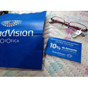 Armação Óculos Grau Fotótica Nova + 10% De Desconto Nas Lent 7934b6856a
