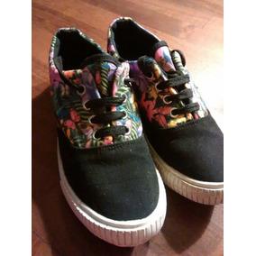 Zapatillas Mujer Niña Marca Noba Talle 37 Lona Impecables 0d3e8b1a63c35