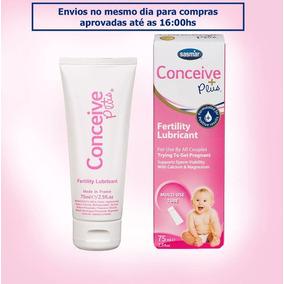 Conceive Plus 75ml + 15 Aplic. + 5 Te. Ovul. - 12x S/juros