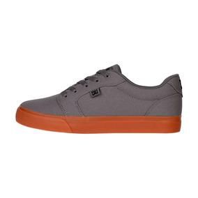 Tenis Hombre Anvil Tx Adys320040 Xsks Dc Shoes Gris