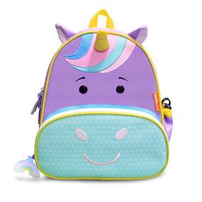 Mochila Infantil Lets Go - Unicornio - Violet - Comtackids