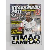 Revista Pôster Corinthians Penta Campeão Brasileiro 2011