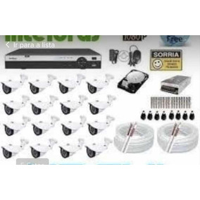 Kit Dvr Intelbras 1032 E 32 Câmeras Ahd 960p