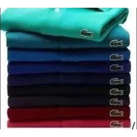 Kit 5 Camisa Polo Lacoste 70% Desconto Preço D Atacado ! 274bda37f605b