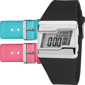 Relógio Mormaii Feminino Troca Pulseira 3 Cores Fz/t8j