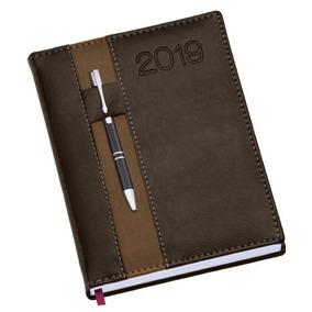 Promoção Agenda 2019 Couro Sintético Personalizamos 135