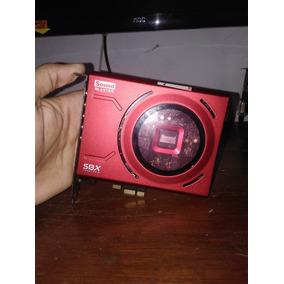 Placa De Som Sound Blaster Usada
