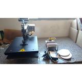 Prensa Térmica Magic A3 - Kit 4x1 - Sublimação E Transfer