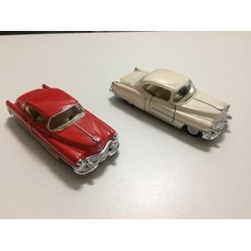 Miniaturas Cadillac 1953 Escala 1/43 Branco E Vermelho