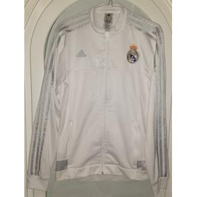Chamarra Adidas Real Madrid Blanca en Mercado Libre México 1aa418d393649