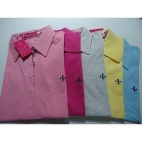 ee87ea50f0 Polo Feminina Varias Marcas Lindas Camisas Kit C 10 Barata