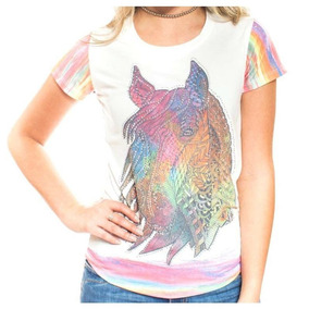 T Shirts Miss Country - Calçados 040630ab250