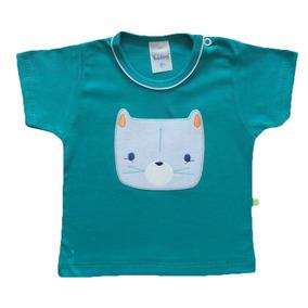 Camisetas Verde em São Paulo de Bebê no Mercado Livre Brasil 81733836a4d18